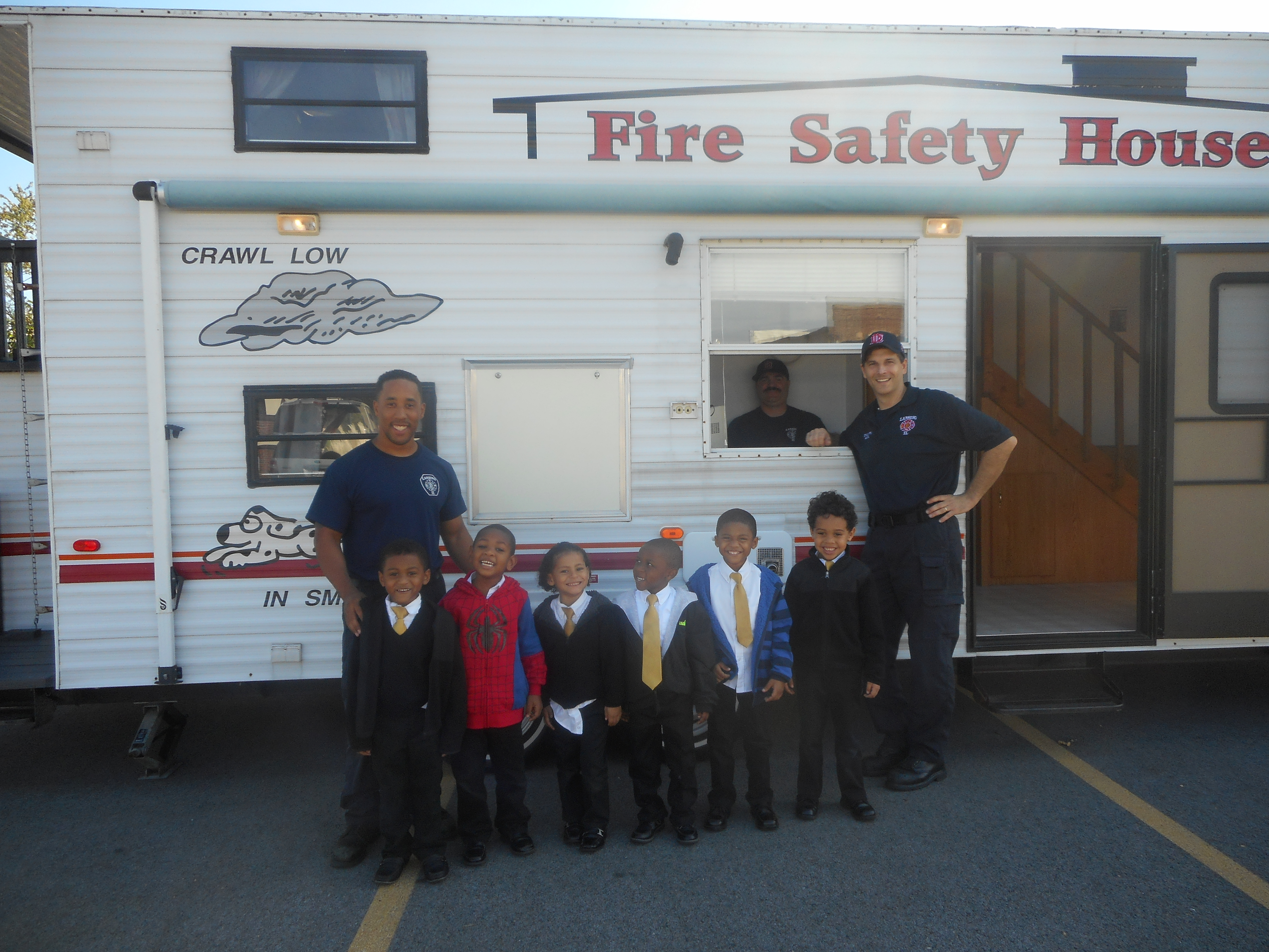 Fire Safety Trailer Day